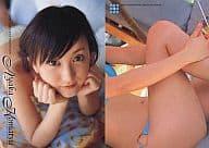 5: Komatsu Ayaka / Young Sunday VENUS-GIRLS Trading Card
