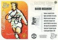 1 [直筆サインカード] : DAVID BECKHAM(直筆サイン入り)(保証書付き)