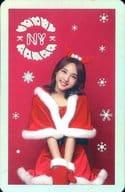 [シート欠け]TWICE/ナヨン/ホログラムカード/CD「TWICEcoaster : LANE 1」(Christmas Edition)特典トレカ
